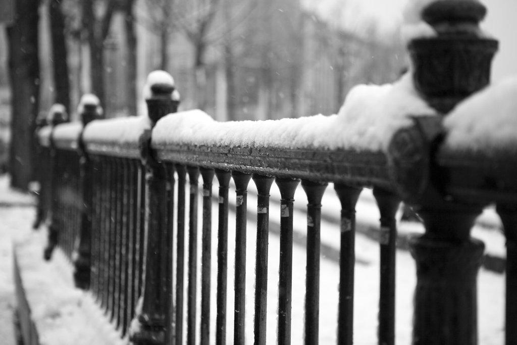 Paris sous la neige...